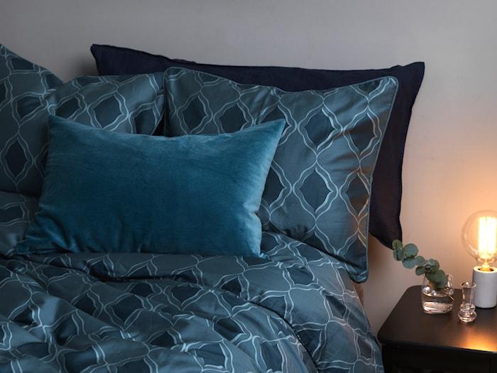 Putetrekk Valter 40x60cm - Mørkeblå