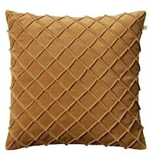 Deva Pillowcase Velvet Yellow 50x50cm