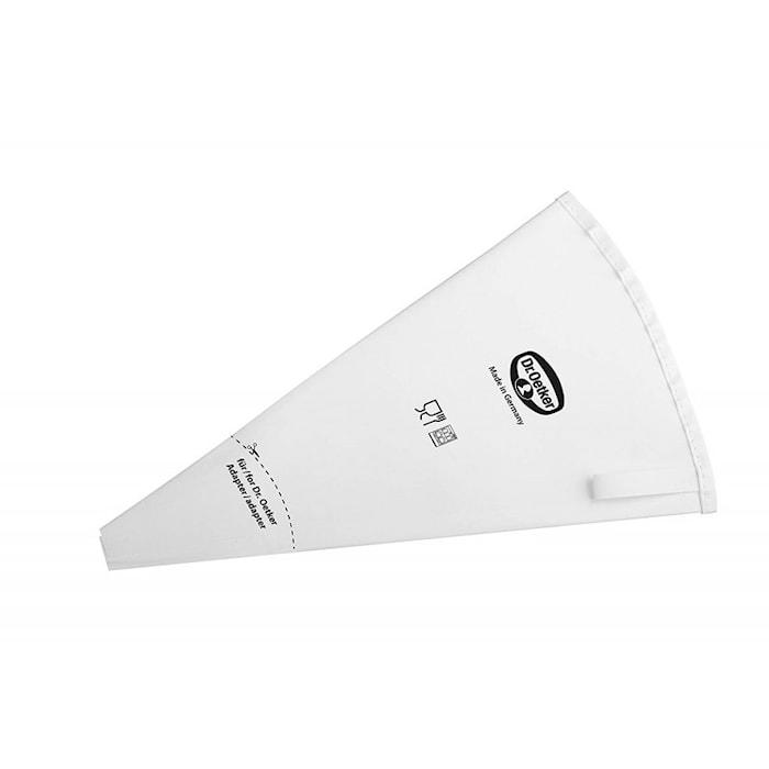 Uudelleenkäytettävä pursotinpussi 28 cm