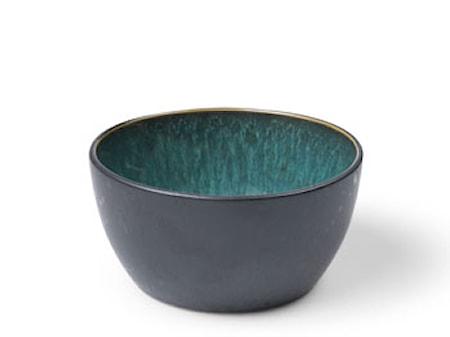 Skål Ø14 cm sort/grøn Bitz