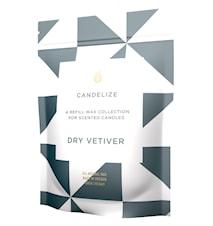 Doftljus refill Dry Vetiver 300g