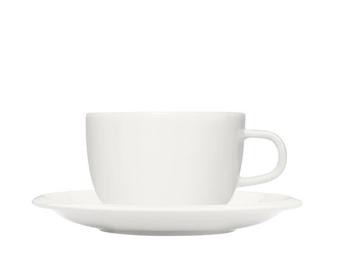 Raami Kaffekopp m fat Vit