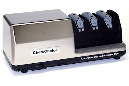 Commercial Diamond Sharpener CC 2100 Knivsliber 3 trin med aftagelig modul