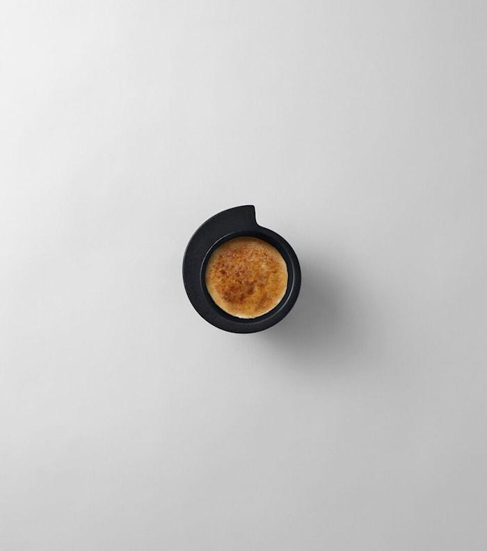 Spin lille skål Sort