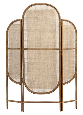 Divider, rattan/weaving, natural colour
