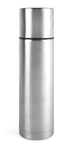 Ståltermos 075 L stål/stål