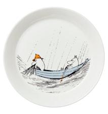 Muumi lautanen 19 cm Alkuperää kunnioittaen