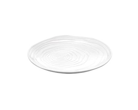 Boulogne tallrik flat vit, Ø 16,5 cm