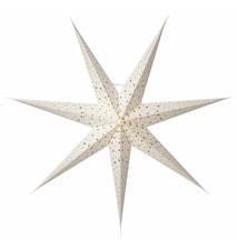 Isadora Julstjärna Vit 80 cm