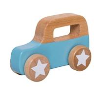 Legetøjsbil Træ Blå 11x17