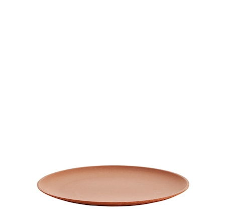 Tallrik Ø 25 cm Brun