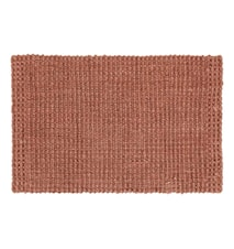Doormat Jute Old Rose 90x60 cm