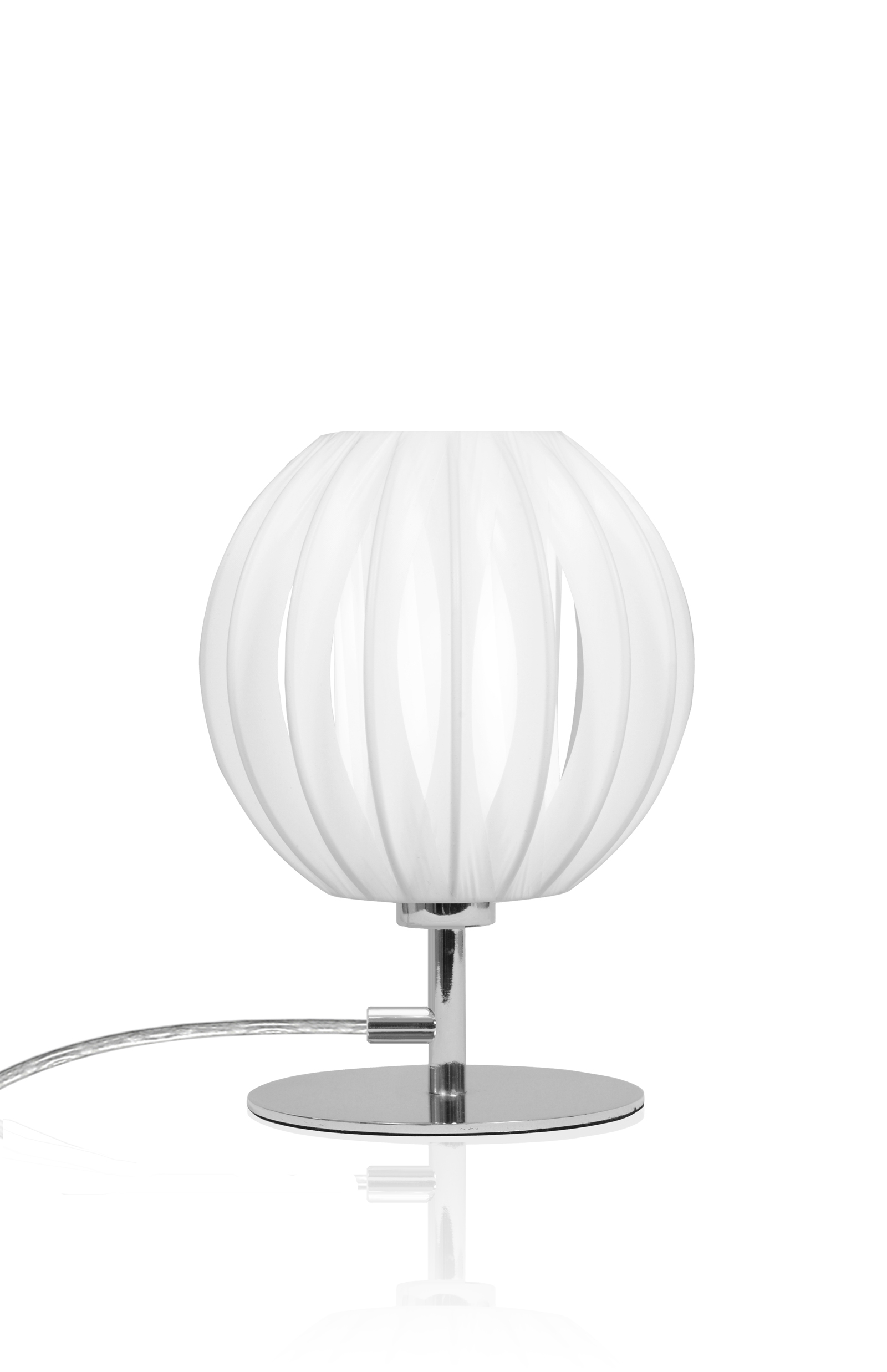 Plastband Bordslampa Mini Krom