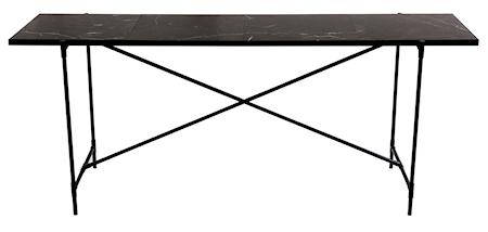 Handvärk konsolbord - Svart