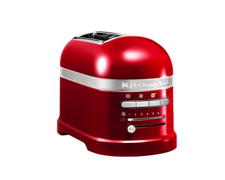 Artisan Leivänpaahdin punainen metallic