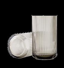 Vase Pustet Glas Smoke 38 cm