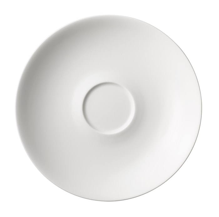 24h Underkop til tekop 20 cm hvid