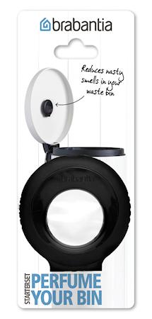 Perfume Your Bin – Start set (hållare + 1 kapsel) Black/Blomdoft