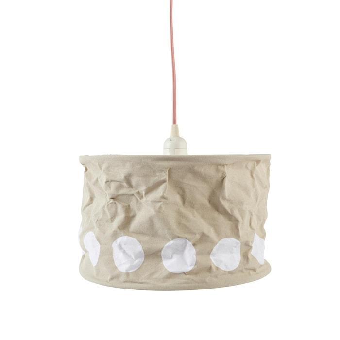 Kids Concept Lampskärm Dot grå/blå