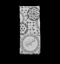 Cloth Napkin Circles Grey 45 x 45 cm