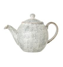 Natasha Teapot Grey Stoneware