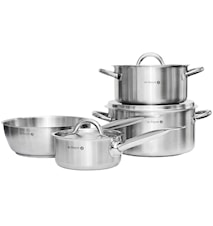 Prim Appety Pots 4-pc with lids