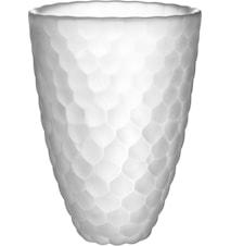 Hallon Frost Vase H 16 cm