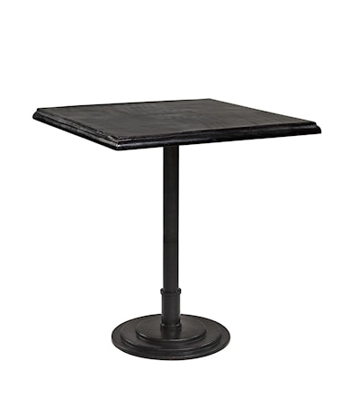 Dante Cafébord Rektangulär H76 Svart