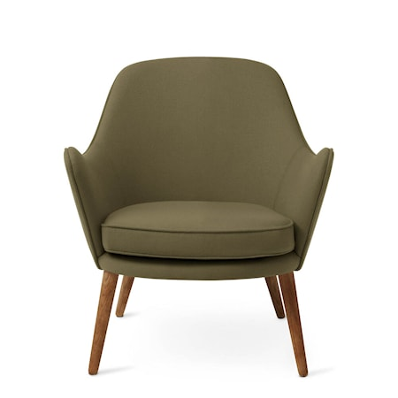 Dwell Lounge Chair Olive Hero