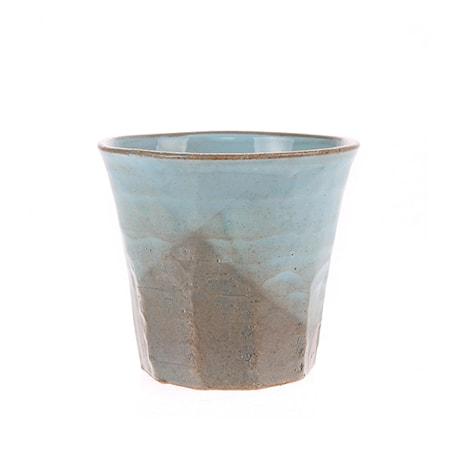 Japansk Keramik Mugg Grå/Blå