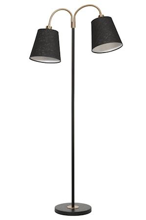 Golvlampa Cia 2-arm med Lampskärm Cia