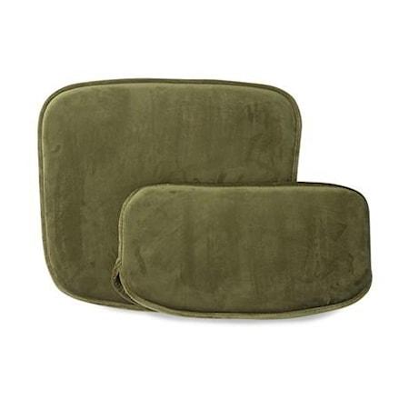 Kuddar till Wire stol Sammet Grön