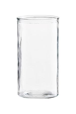 Vase Cylinder Ø 13x24 cm - Klar