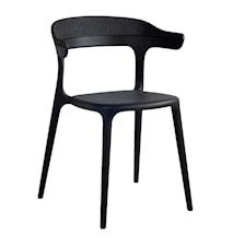 Muubs Luna Stripe stol - svart