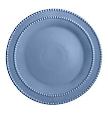 Tårtfat 35 cm Duvblå