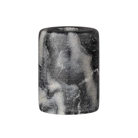 Lysestage Grå Sten 6x8 cm