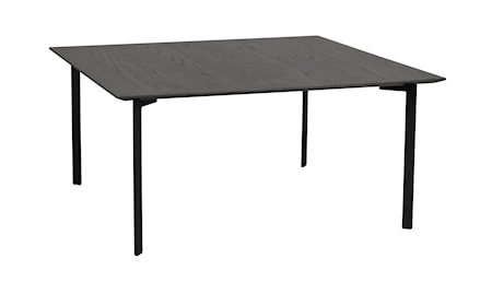 Spencer soffbord 95x95 svart ek/svart metall thumbnail