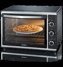Mini-oven met pizzasteen Hetelucht 42 L