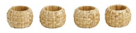 Servietring, weaved cane, natural