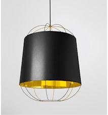 Lanterna Medium Taklampa - Svart/guld