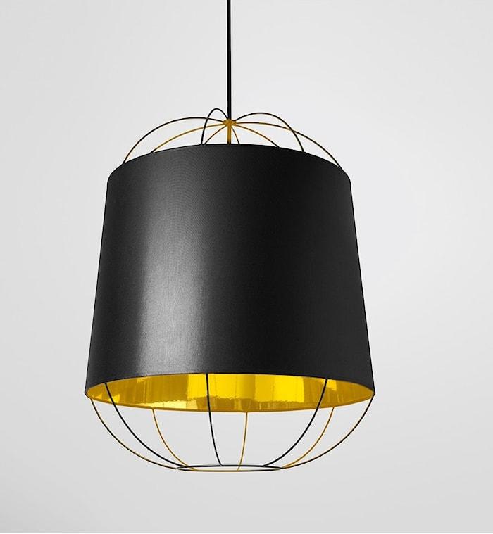 Lanterna Medium Taklampe - Svart/gull
