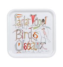 Fåglarna berättar Bakke 32x32 cm
