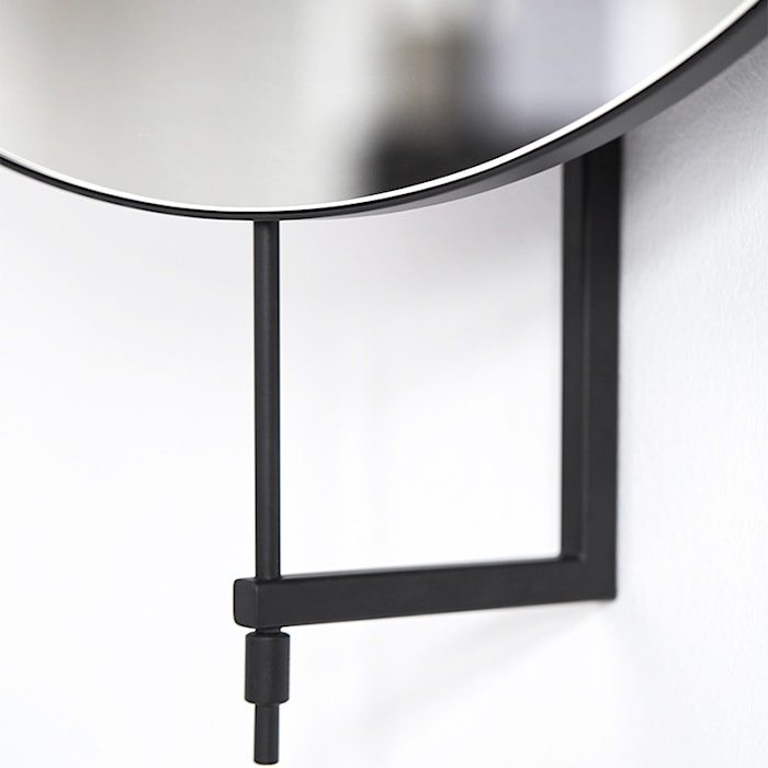 Rotating spegel svart