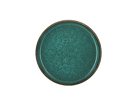 Tallerken Ø21cm grønn/grønn Bitz