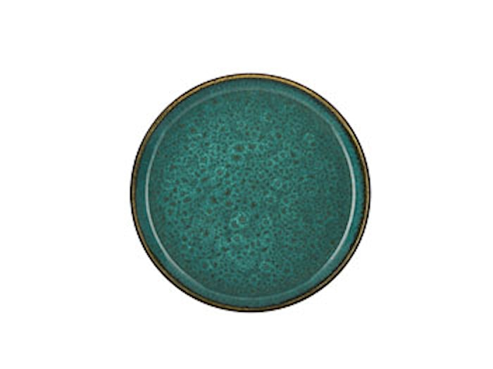 Gastro Tallerken Ø 21cm Grøn/Grøn