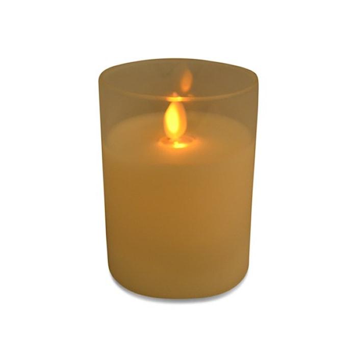 LED-lys, glass, 10 cm