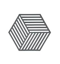 Bordbrikke Cool Grey Hexag