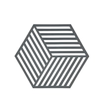 Hexagon Grytunderlägg Cool Grå