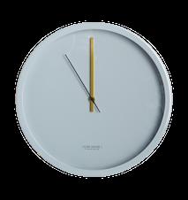 Väggklocka Clock Couture Ø 30 cm Grå