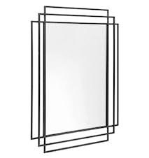 Spejl SQUARE 97x76 cm - Sort